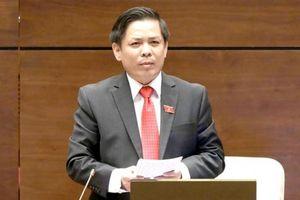 'Nóng' vấn đề BOT, dự án chậm tiến độ, đội vốn, Bộ trưởng Nguyễn Văn Thể trả lời thế nào với ĐBQH?