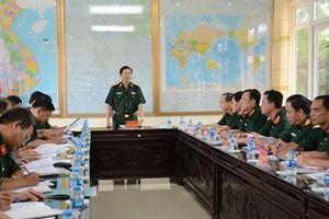 Bộ Tổng tham mưu kiểm tra công tác quân sự tại Trung đoàn 209, Sư đoàn bộ binh 312