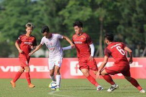 U23 Việt Nam hòa Viettel, chia tay 1 cầu thủ