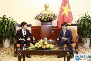 Việt Nam, Nhật Bản sẽ thúc đẩy hơn nữa quan hệ hợp tác hữu nghị