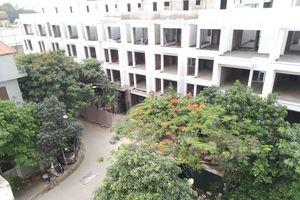 Quận Thanh Xuân yêu cầu dừng thi công dự án khu nhà liền kề 54 Hạ Đình