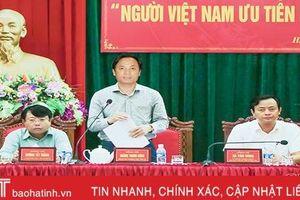 78% người tiêu dùng Hà Tĩnh lựa chọn hàng Việt