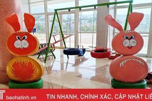 ĐVTN Hồng Lĩnh 'hô biến' phế liệu trở thành đồ chơi trẻ em