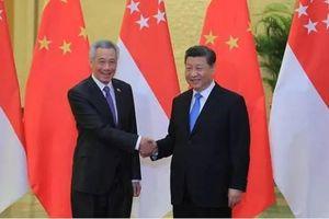 Thủ tướng Singapore Lý Hiển Long ủng hộ 'Sáng kiến Vành đai và Con đường' của Trung Quốc
