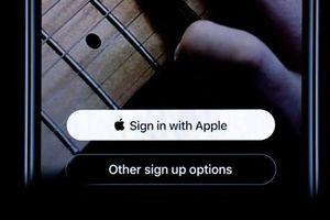 Apple yêu cầu đặt nút 'Đăng nhập với Apple' ở trên Google, Facebook