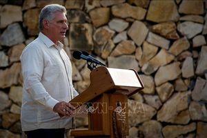 Chủ tịch Cuba tuyên bố 'không run sợ hay phân tâm' trước những cấm vận mới của Mỹ