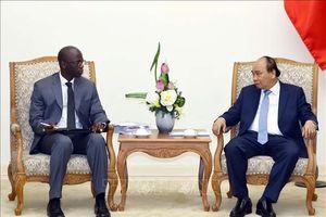 Thủ tướng Nguyễn Xuân Phúc tiếp Giám đốc quốc gia Ngân hàng Thế giới (WB)