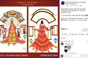 Chặng đua nước rút tìm kiếm Quốc phục: Lộ diện nhiều thiết kế 'khủng' cho Hoàng Thùy tại Miss Universe 2019