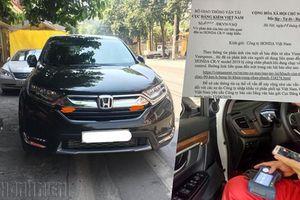 Sự cố phanh trên Honda CR-V: Cục Đăng kiểm Việt Nam yêu cầu Honda giải trình