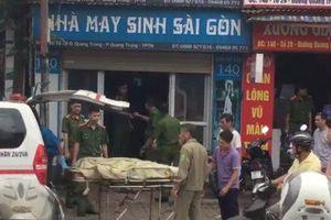 Phát hiện người đàn ông gục chết trong tiệm may ở Thái Nguyên