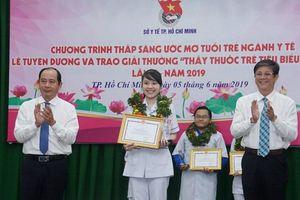 Cô gái 9X được tuyên dương 'Thầy thuốc trẻ tiêu biểu ngành Y tế' TP.HCM