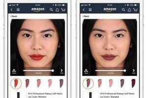 Amazon cho phép người mua 'thử' mỹ phẩm online nhờ ứng dụng Live Mode