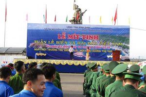 Bình Định: 700 cán bộ, chiến sĩ, đoàn viên thanh niên tham dự Lễ mít tinh hưởng ứng Ngày Môi trường thế giới, Ngày Đại dương thế giới