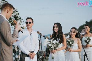 Đám cưới công phu của con gái 'nữ tướng truyền thông' Chu Thị Hồng Anh