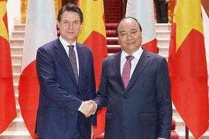 Việt Nam - Italia sẽ ủng hộ nhau tại các diễn đàn đa phương