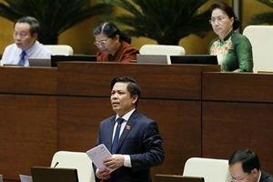 Bộ trưởng Nguyễn Văn Thể trả lời việc xử lý dự án giao thông đội vốn, chậm tiến độ