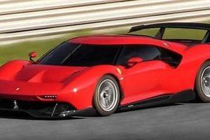Siêu xe Ferrari P80/C xuất hiện ngoài đời thực