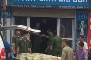 Thái Nguyên: Chủ tiệm may tử vong với nhiều vết cứa trên cơ thể