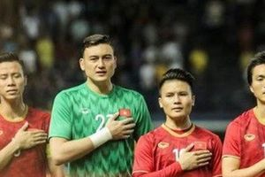 Cầu thủ ăn mừng sau chiến thắng ĐT Thái Lan - Đặng Văn Lâm: 'Gần nửa năm ở Thái mà bây giờ mới được cười thật tươi'