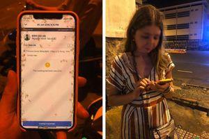 Nữ du khách người Nga tố bị tài xế xe ôm công nghệ cướp điện thoại, xô ngã xuống đường giữa đêm khuya ở Sài Gòn