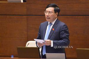 Phó Thủ tướng Phạm Bình Minh nói về bảo vệ chủ quyền biển, đảo