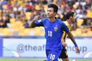 Tiền đạo 16 tuổi 'choáng' khi lần đầu khoác áo đội tuyển Thái Lan
