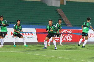 U23 Myanmar rèn thể lực trước trận gặp U23 Việt Nam
