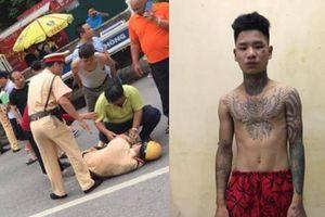 Bắt tạm giam 2 tháng thanh niên đâm xe máy khiến cảnh sát ngã gục trên Quốc lộ 32