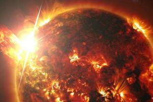 Hãi hùng ngôi sao xa xôi phát ra ngọn lửa khổng lồ