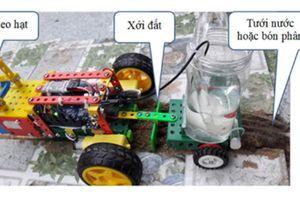 Robot nhà nông của học sinh trung học