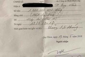 Chủ nợ khởi kiện Phó giám đốc Sở LĐ-TB-XH tỉnh Bình Định Trương Hải Ân