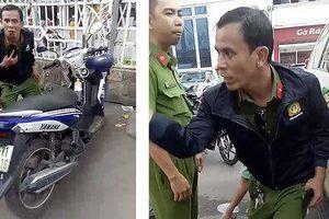 Giả cảnh sát hình sự đi trộm cắp xe máy