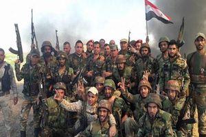 Quân đội Syria giành lại 23 khu vực chỉ trong 40 ngày