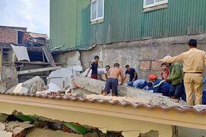 Sập nhà khi sửa chữa khiến một người bị thương