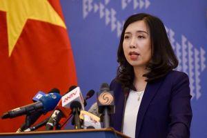 VN gửi công hàm tới Đại sứ quán Singapore về phát biểu của ông Lý Hiển Long