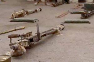 Syria: Điều bất ngờ trong kho vũ khí 'khổng lồ' khủng bố giấu dưới lòng đất ở Deir Ezzor