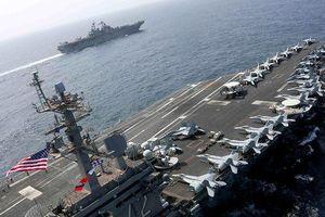 Lý do tàu sân bay Mỹ chưa tiến vào Vịnh Ba Tư đối đầu Iran