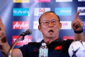 HLV Park Hang Seo nói gì về chiến thắng của Việt Nam trước Thái Lan?