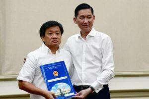 Thành ủy TP HCM đang xử lý đơn xin từ chức của ông Đoàn Ngọc Hải