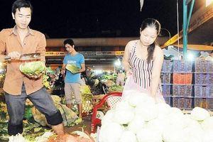 Chợ đầu mối tại Hà Nội: Khó thu hút vốn đầu tư