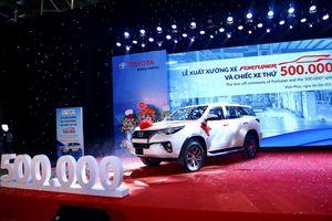 Xe Toyota Fortuner lắp ráp trong nước trở lại, giá bán tăng nhẹ so với nhập khẩu