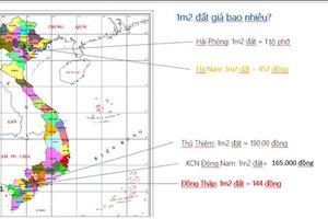 Đồng Tháp: Xứng danh bét bảng bồi thường 19.000m2 đất chưa đến 144 đồng/m2