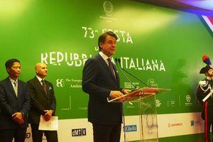 Thủ tướng Giuseppe Conte: Cộng đồng Italia may mắn khi được sống tại Việt Nam