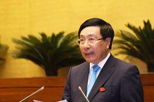 QH chất vấn Phó Thủ tướng Phạm Bình Minh