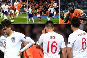 Dàn sao Anh đau đớn cúi đầu sau thất bại trước Hà Lan
