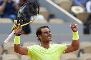 Thắng 3-0 Federer, Nadal thẳng tiến vào chung kết Pháp mở rộng
