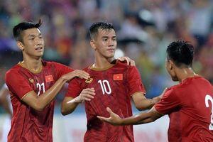 U23 Việt Nam đánh bại Myanmar trong trận 'thủy chiến'