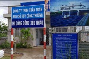 Sở NNPTNT Kiên Giang 'nhờ' doanh nghiệp khắc phục sai phạm tiền tỷ?