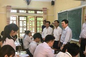 Kiểm tra công tác chuẩn bị kỳ thi THPT Quốc gia năm 2019 tại Yên Bái