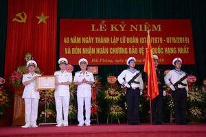 Lữ đoàn 679 đón nhận Huân chương Bảo vệ Tổ quốc hạng Nhất
